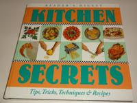 Up for sale is a Readers Digest Kitchen Secrets Book.