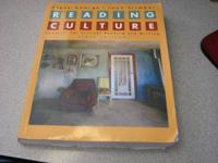 READING CULTURE 6TH EDITION CONTEXTS FOR CRITICAL