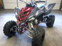 2008 Yamaha Raptor 700 fuel injected 4 stroke. Electric