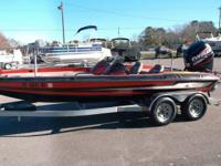 1996 Stratos 201 powered by a 2006 Evinrude Etec 225