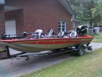 2006 Tracker Pro Team 175 OPTIMAX. ONLY SELLING BECAUSE