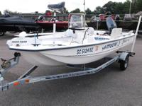 2007 Stinger 144 powered by a Yamaha 50 and galvanized