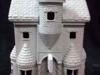 9 x 6 x 4 unpainted- ready to paint - ceramic bisque -