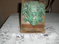 Precolonial sculpture. Mexica Aztec. Original. Must see