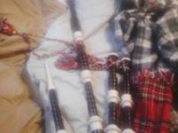 I bought these bagpipes when I was in Scotland in 2000.