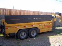 !!! REAL DEAL TODAY !!! 2006 TRAVELONG 7X14 DUMP BED