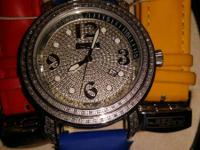1.5 CTW REAL DIAMOND WATCH. FOR THAT PERSON THAT WANTS