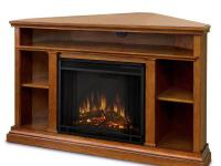 This corner fitting TV mantel, is sure to become the