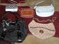 tan browish guess purse $25 excellent condition baby