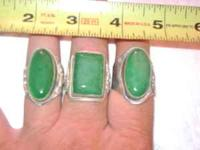 Real Jade Rings--I bought these Jade rings from China 8