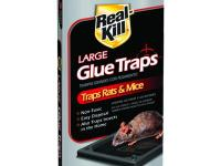 Real-Kill Rat Glue Traps (2-Pack) are non-toxic,