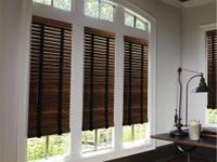 WOOD BLINDS. Whether you like timeless or contemporary