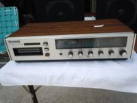 A working antique Realistic am/fm stereo and record