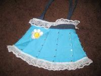 USED Really cute toddler-5 yrs old girls skirt bag.