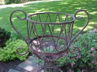 "New Never Used 5 Piece Wrought Patio Set (48"" Table and"