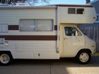 For sale is a vintage 1977 dodge motorhome camper in