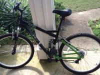 For Sale a one year old Realm Mountain Bike. Excellent