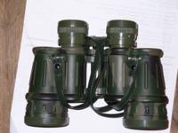 Simmons 8x40 Binoculars with case. Have covers for