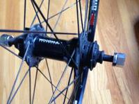 Solid 29er mountain bike wheel is in great shape, and