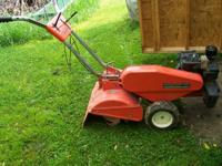 montgomery ward rear tine tiller 5 hp bs engine has new