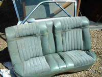 rear seat for 74-79 buick skylark in great shape could