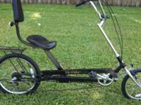 Recumbent ReBike 7 Speed Front & & Rear Hand Brakes 16""