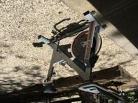 Reebok 510 exercise bike. Nearly new original price