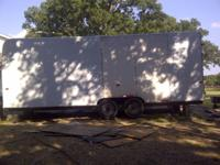 Newly Rebuilt 24ft High box Trailer, Movers delight.
