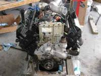 I have a 2001 ford 7.3 diesel complete motor. It has