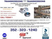 4L60E/4L65E 1998-UP REBUILT TRANSMISSION FOR GM CARS
