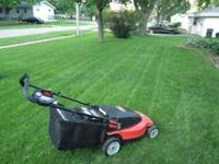 Black and Decker 24V 19 inch Cordless Rechargeable Lawn