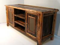 We custom build these TV stands in all sizes and all
