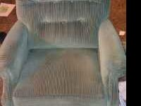 green recliner in fair shape must go. CALL  Location: