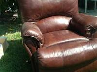 I am selling a leather lazy boy recliner. Too big for