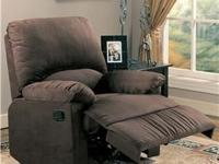 We have just the right stationary recliner you need to