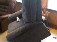 Recliner/Lift Chair with heat and massage.Practically