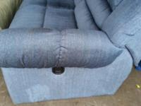 Double Reclining Loveseat ,clean and in great