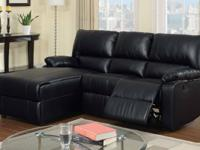 Breath easy with this recliner sectional set the