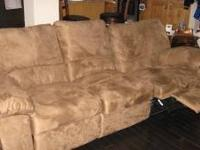We have a Recliner Sofa, very good condition,