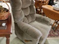 I have 2 great reclining chairs, 1 is beige/rose