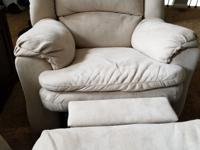 Reclining sofa and chair in excellent condition.  Both