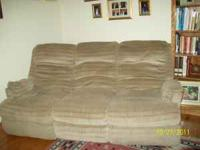 Reclining Sofa By Berkline Recliners On Both Ends