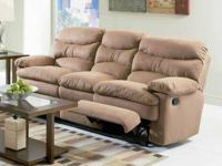 Brand new in packaging Nice microfiber sofa with dual