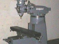 BUYER PAYS SHIPPING PLEASE machine comes with tooling