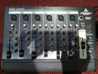 I am selling a Peavey RQ 200 Six Channel Mixer Console,