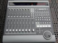mackie mcu: this is a full midi recording control