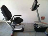 Schwinn Recumbant Bike. Used very little. Great