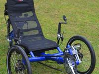 I have a Recumbent Gekko Trike that is 27 speed and
