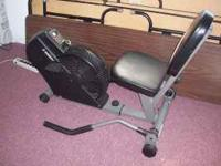 This exercise bike is made by Stamina Model 4655. It
