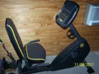 Gold's Gym Power 230 Recumbent Bike. This is a great
